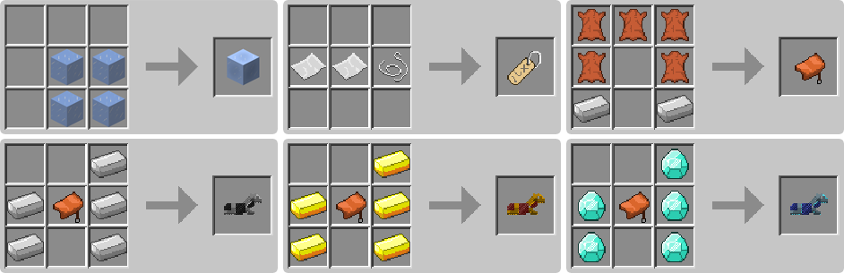 How To Craft Horse Armor Minecraft